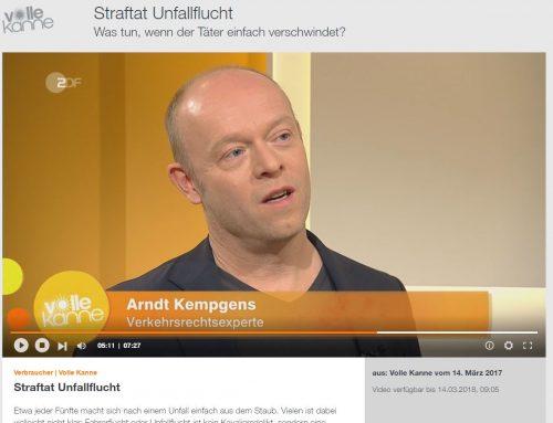 Dienstag, 14.3. RA Kempgens live beim ZDF Frühstücksfernsehen (hier sehen Sie den Mitschnitt)