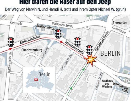 """24.4.: Spannender Vortrag zum """"Totraser""""-Prozess von Berlin. Heute 18.30 Uhr im DGB-Haus GE, Referent RA Kempgens"""