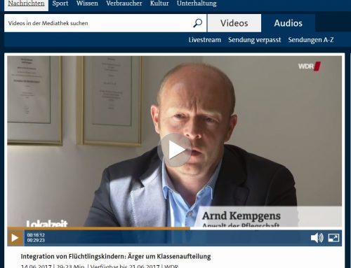 14.6.: Pressebericht zur Klage der Schulpflegschaft gegen Gesamtschule Berger Feld. RA Kempgens stellt Eilantrag.