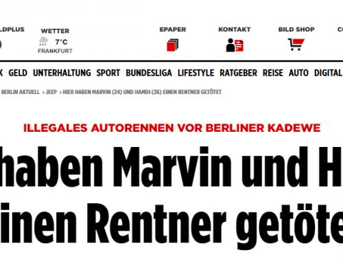 27.12.17: BGH bestimmt Termin im Raser-Mordfall von Berlin