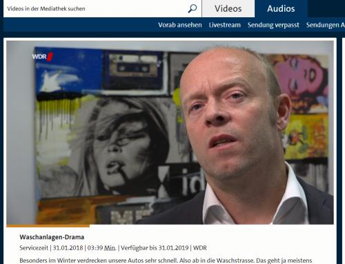 WDR Servicezeit 31.1.: Was tun bei Waschstraßenschäden? RA Kempgens im Interview