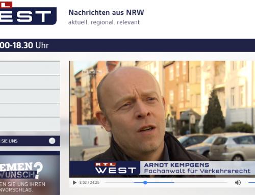 RTL 28.2.: Diesel zurückgeben, bei Spritmehrverbrauch von 10%. Tipps von RA Kempgens im Interview…
